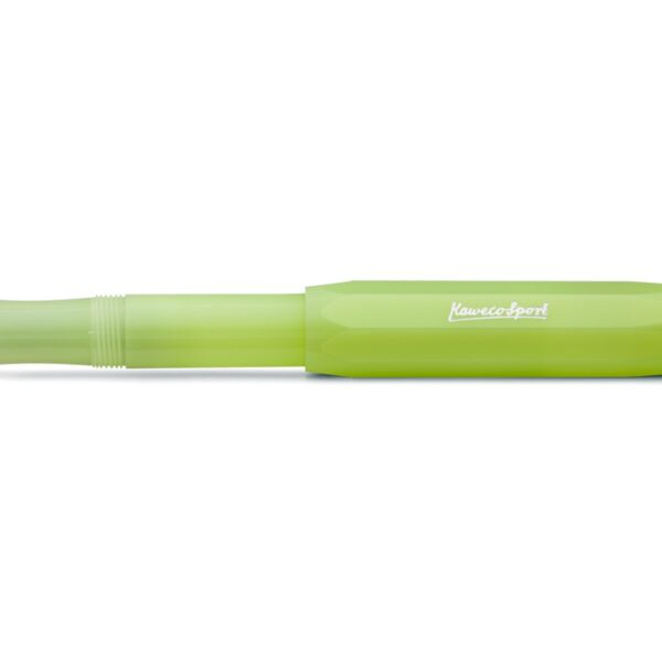 Kaweco Frosted Sport Fountain Pen Fine Lime