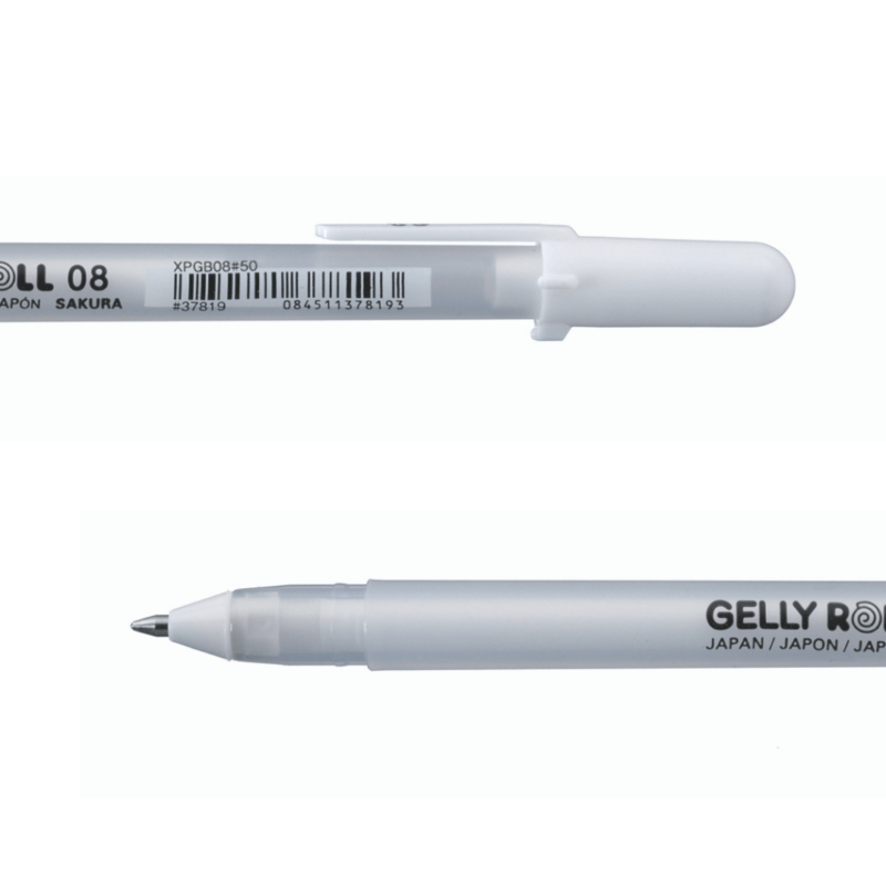 Gelly Roll Basic White 08