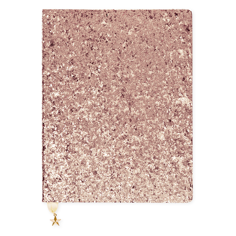 All That Glitters - Rose Gold Journal