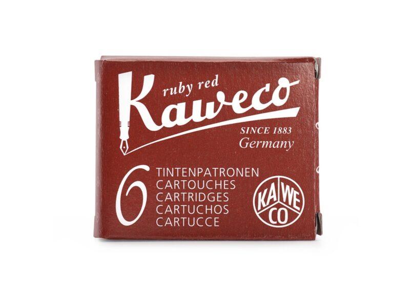 Kaweco Ink Cartridges Ruby Red
