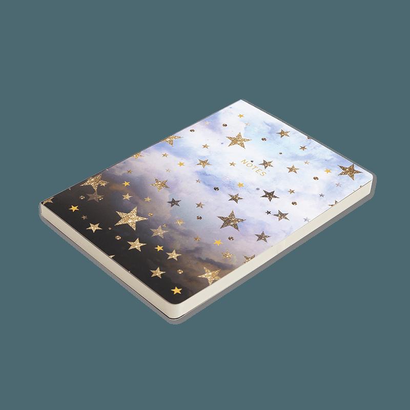 Cloudy Stars A5 Notebook