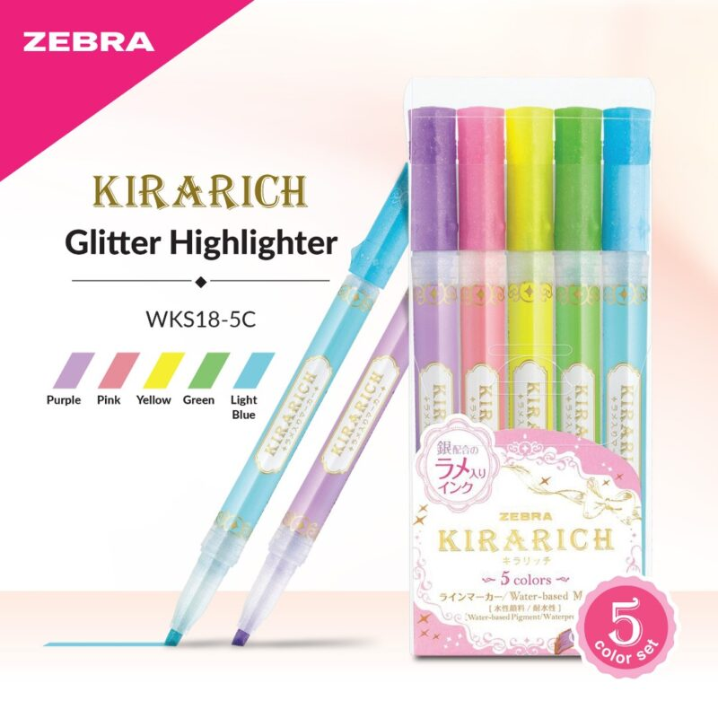 Kirarich Glitter Highlighters