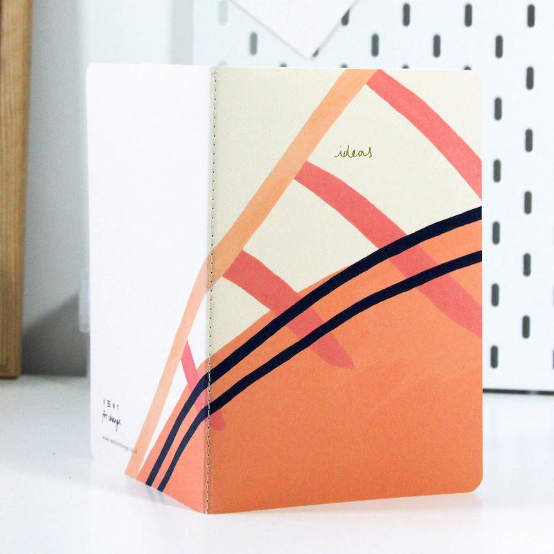 A5 Softcover Sketchbook - Pink