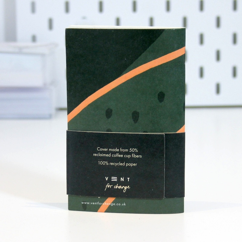 Recycled Pocket Notebook - Green