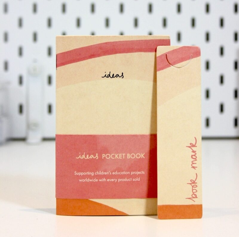 Recycled Pocket Notebook - Cream