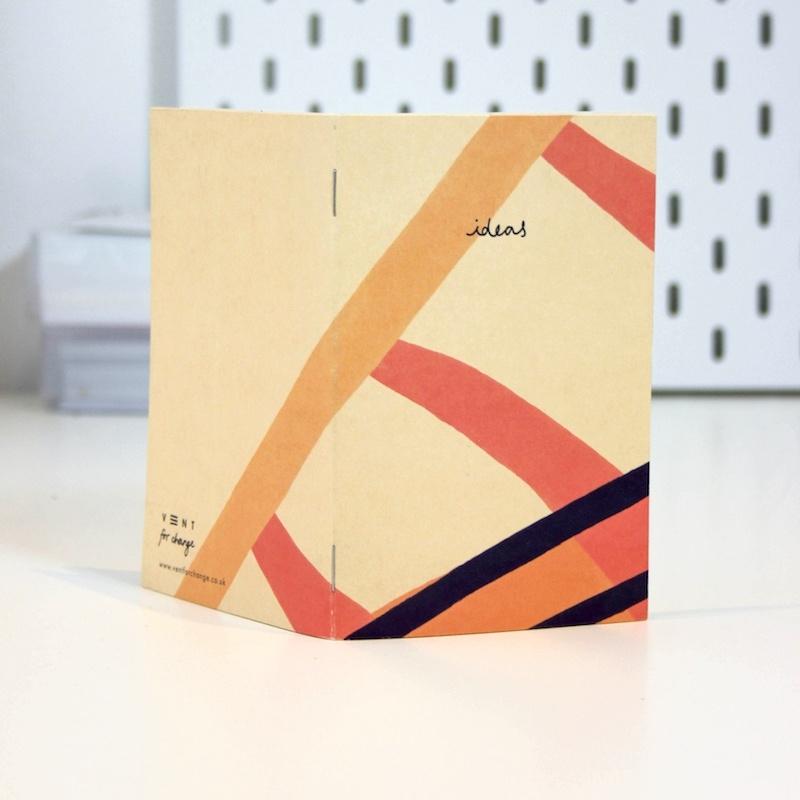 Recycled Pocket Sketchbook - Pink