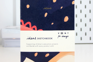 A5 Softcover Sketchbook - Blue