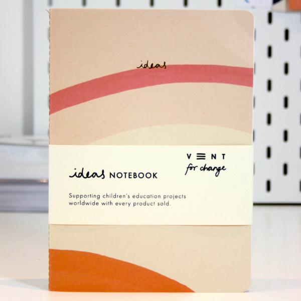 Soft Cover A5 Notebook - Cream