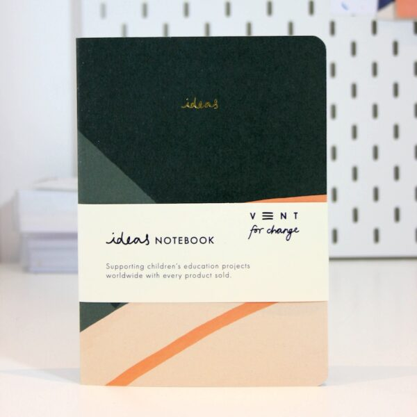 Soft Cover A5 Notebook - Green