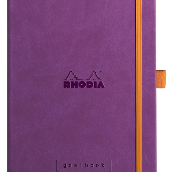 NEW Rhodia Goal Book A5 Purple
