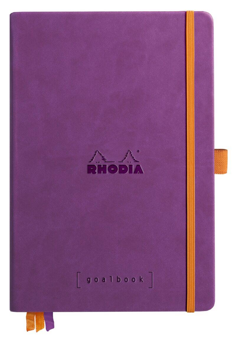 NEW Rhodia Goal Book A5 Purple