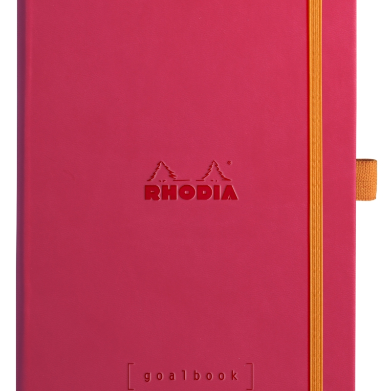 NEW Rhodia Goal Book A5 Raspberry