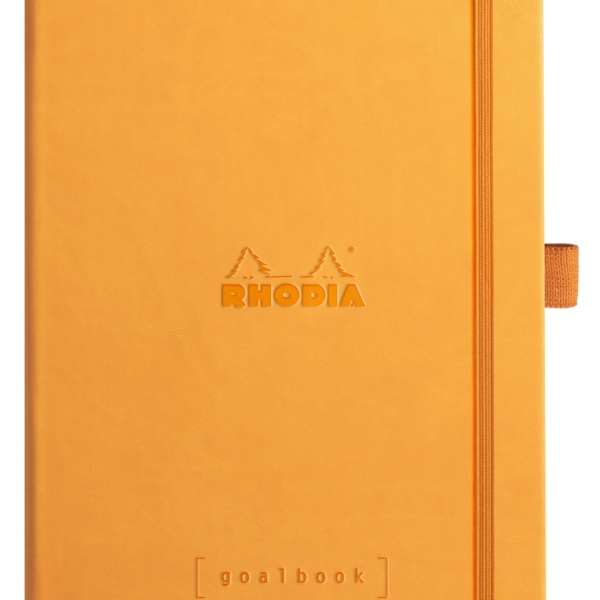 NEW Rhodia Goal Book A5 Orange