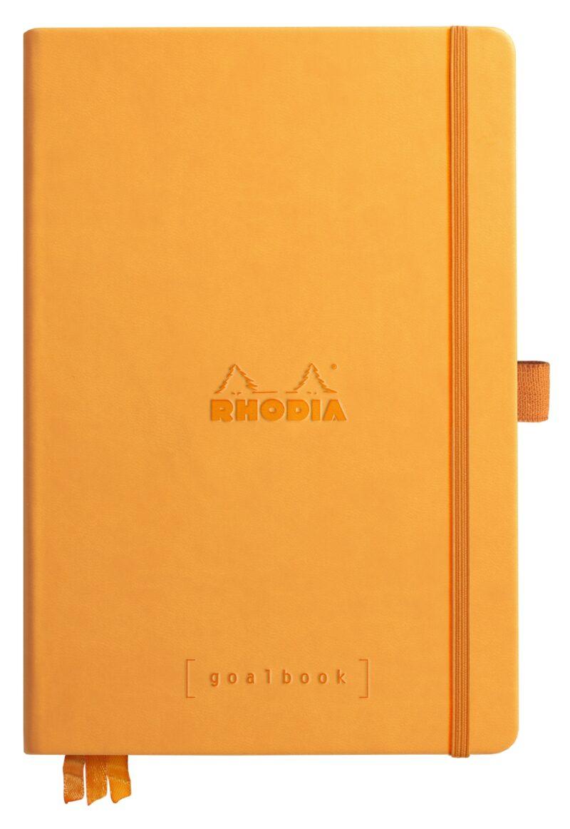 NEW Rhodia Goal Book A5 Orange