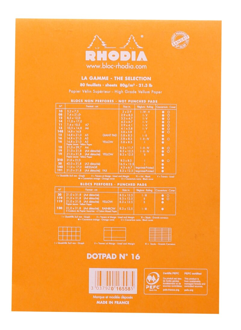 Rhodia A5 Dot Pad
