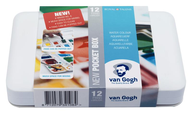Van Gogh Watercolour Pocket Box