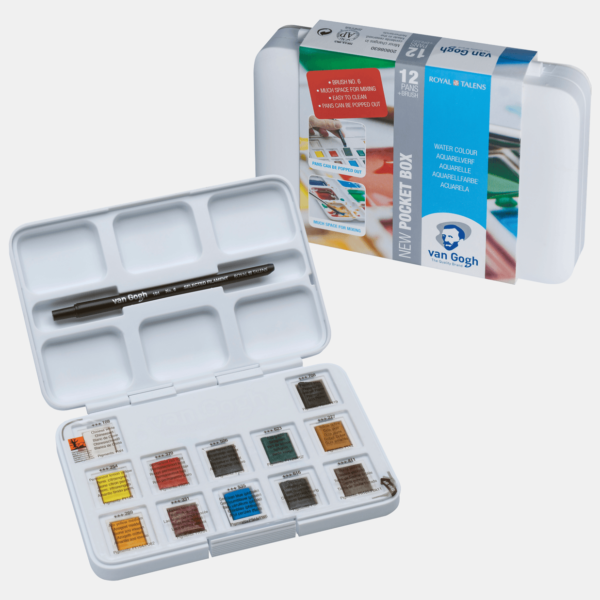 Van Gogh Watercolour Pocket Box