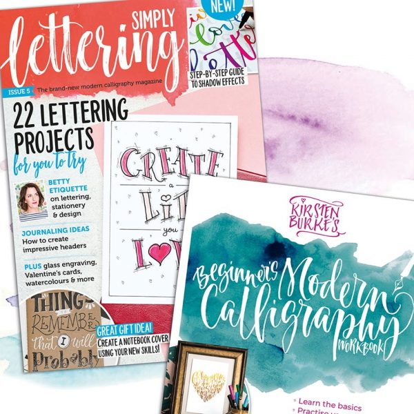 Simply Lettering Magazine Issue 5