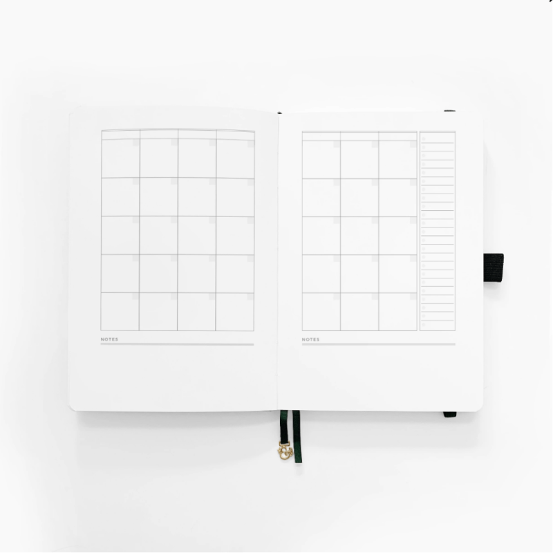 A5 Planner Month to View