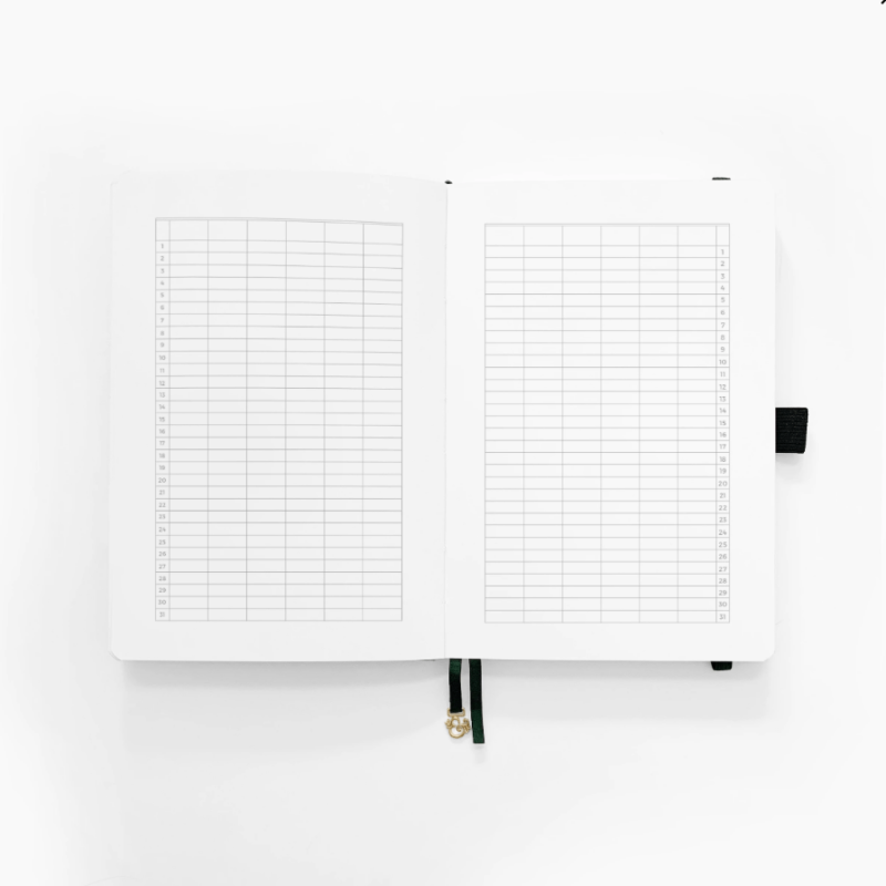 A5 Planner Year to View
