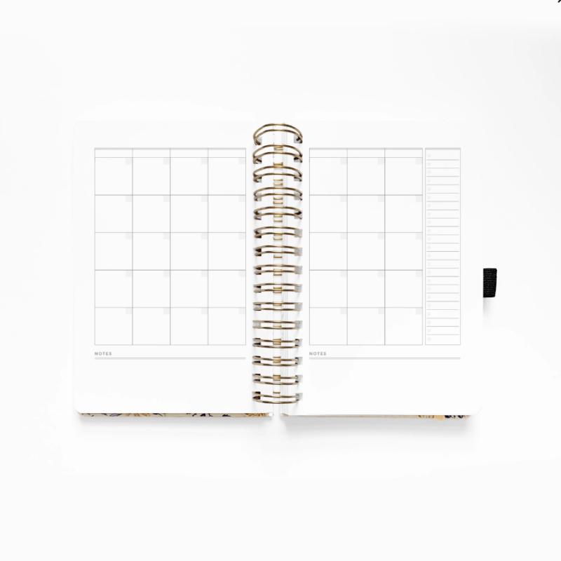 A5 Spiral Planner Month