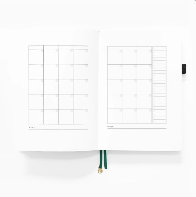 B5 Planner Month