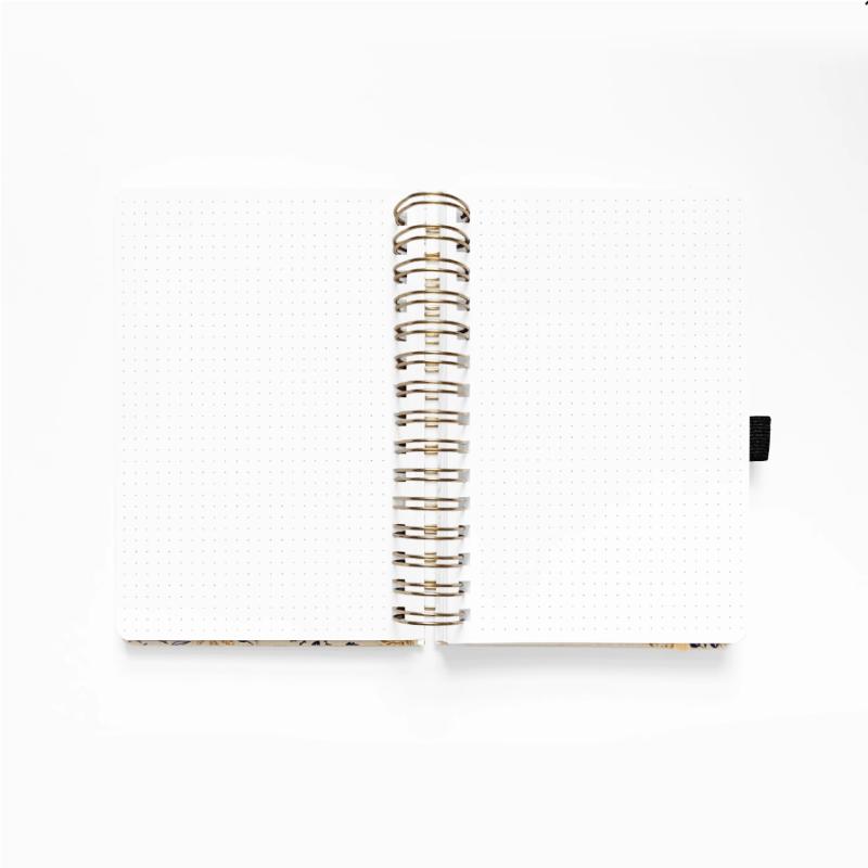 B5 Spiral Planner Dot Grid
