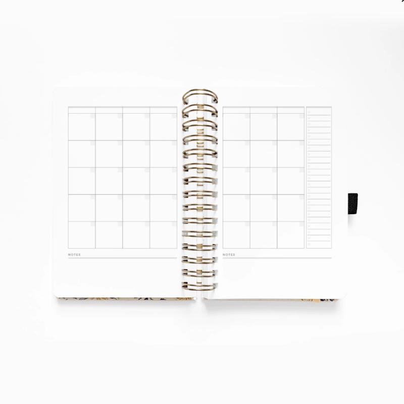 B5 Spiral Planner Month