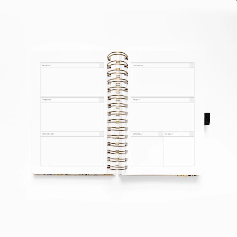 B5 Spiral Planner Week