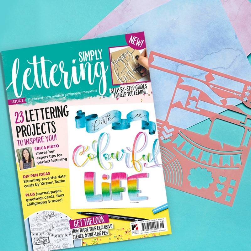 Simply Lettering Issue 8