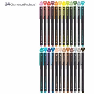 Chameleon Fineliners Set 24