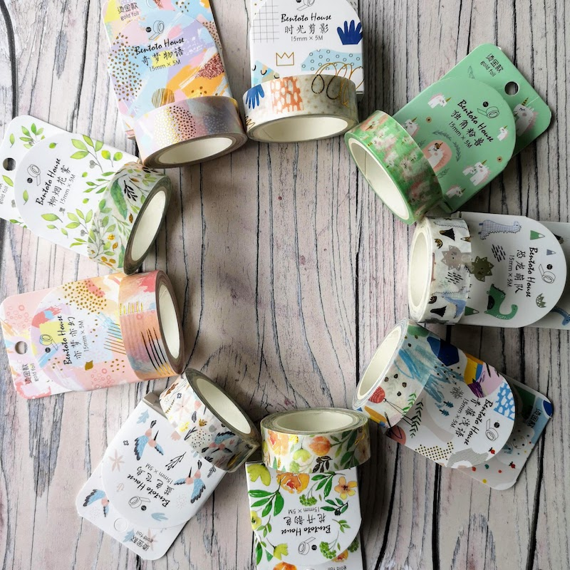 Foiled Boxed Washi Tape
