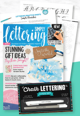 Simply Lettering Magazine Issue 2