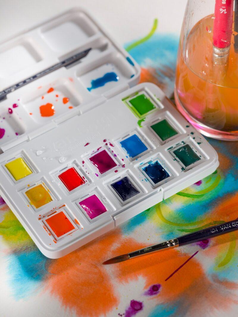 Van Gogh Vibrant Watercolour Pocket Box