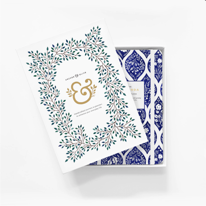 A5 Planner Fleur-de-Bleu