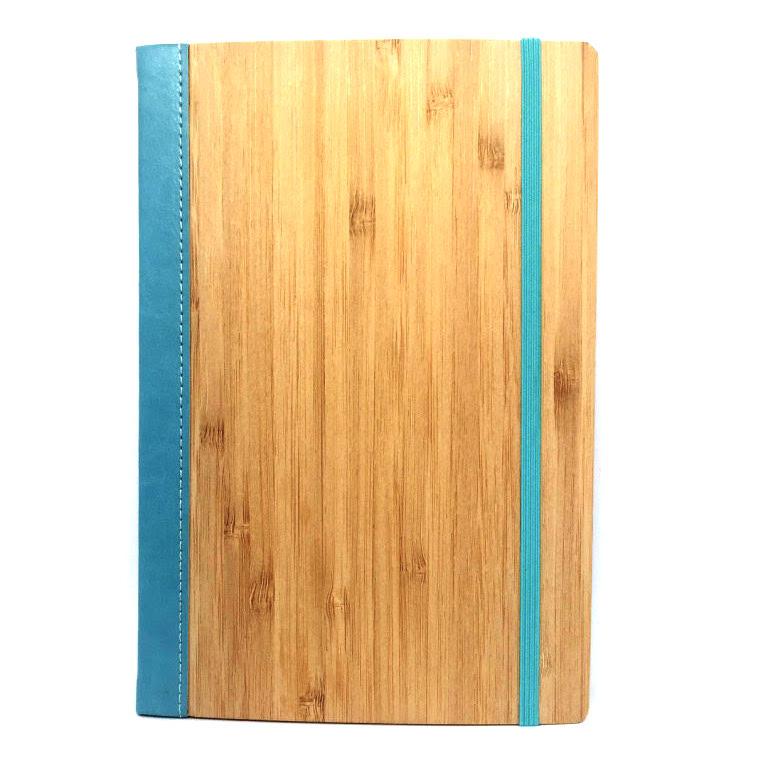 Bamboo Notebook Blue Lagoon