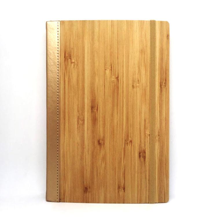 Bamboo Notebook Gold