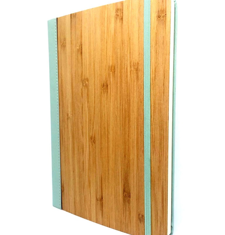 Bamboo Notebook Pastel Blue