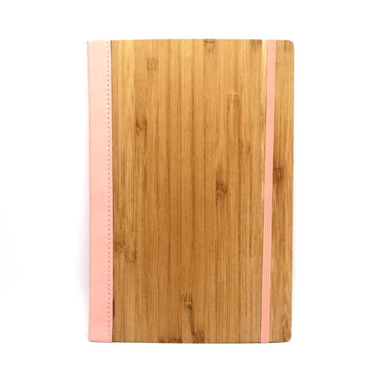 Bamboo Notebook Pastel Pink