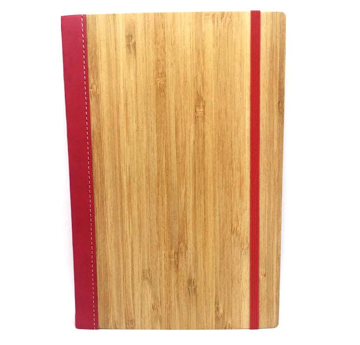 Bamboo Notebook Deep Pink