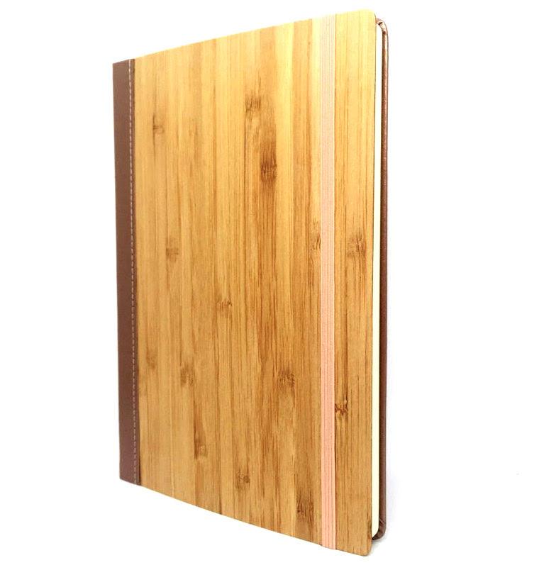 Bamboo Notebook Rose Gold