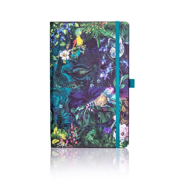 Eden Lily Lined Notebook