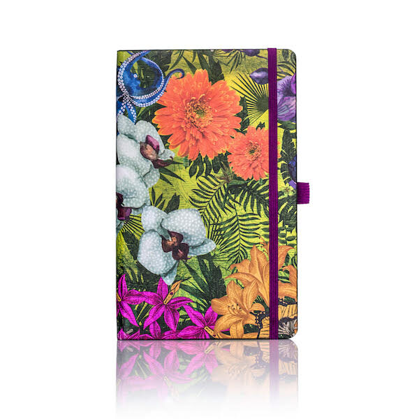 Eden Orchid Lined Notebook