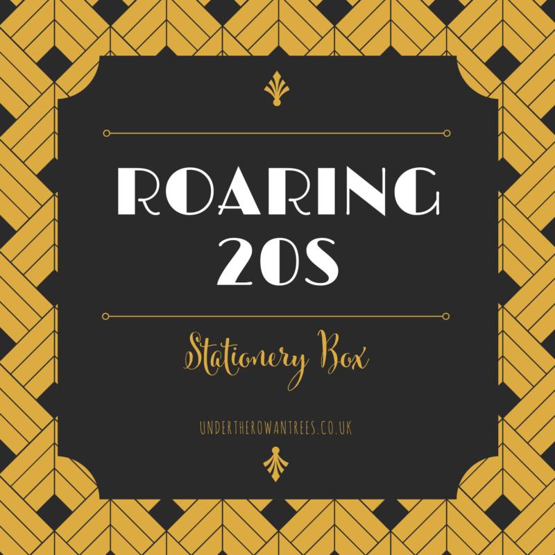 Roaring 20s Stationery Box
