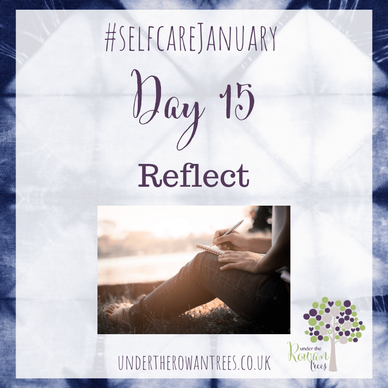 Self-Care Challenge Day Fifteen