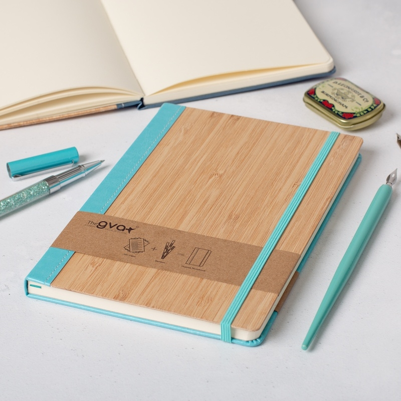 A5 Bamboo Notebook