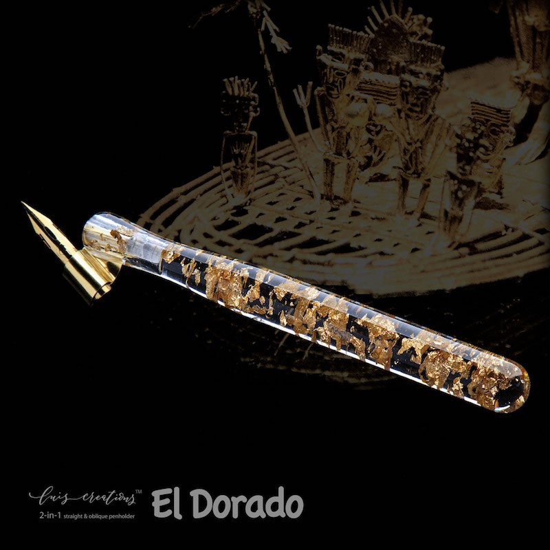 El Dorado 2-in-1 Penholder with black background