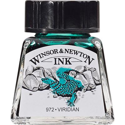 Winsor & Newton Ink Viridian 14ml