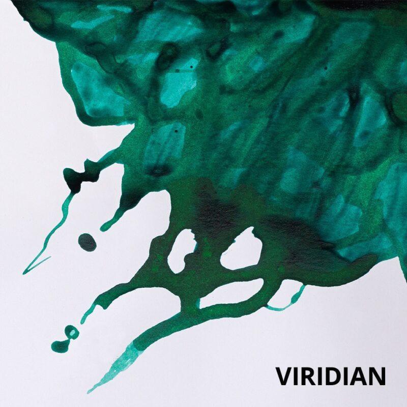 Winsor & Newton Ink Viridian Swatch
