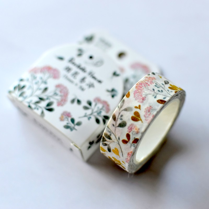 Botanical Foil Washi Tape